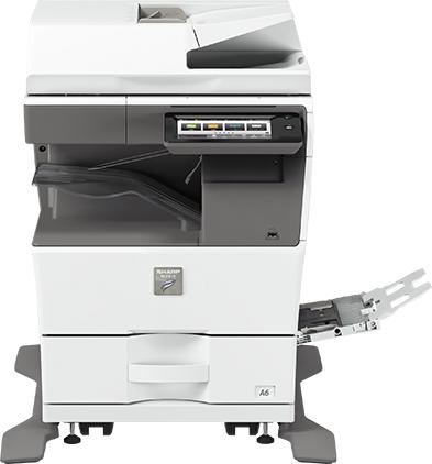stampante multifunzione sharp MX-B455W - cassetto carta A4