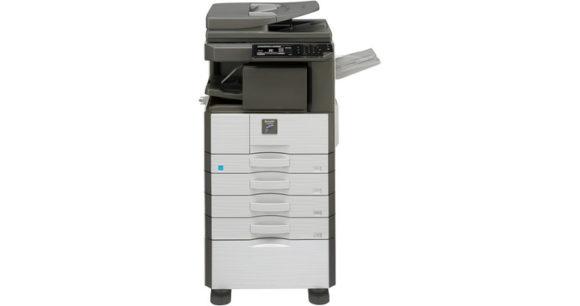 stampante multifunzione sharp MX-M266N - fronte