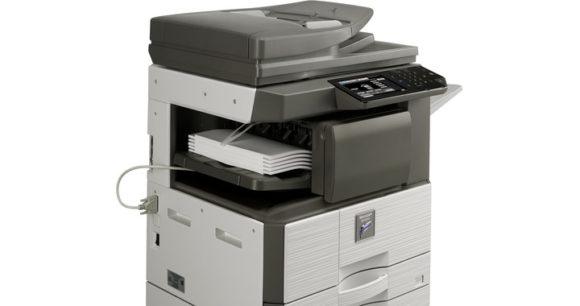 stampante multifunzione sharp MX-M266N - zoom cassetto carta