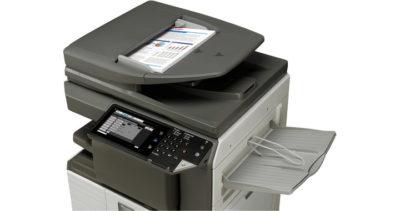 stampante multifunzione sharp MX-M266N - piano scansione