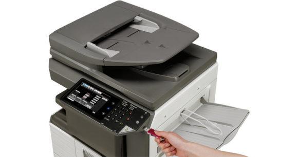 stampante multifunzione sharp MX-M266N - dispositivo USB esterno