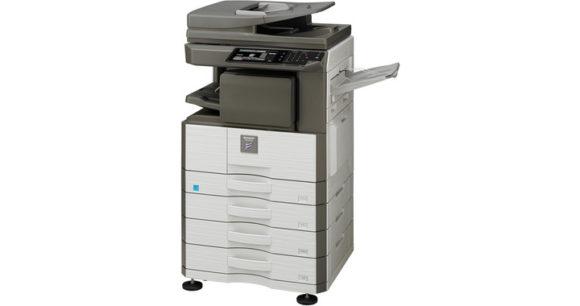 stampante multifunzione sharp MX-M266N - lato