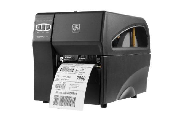 Stampante per etichette Zebra ZT220 - lato