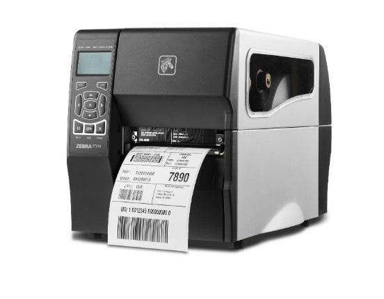 Stampante per etichette Zebra ZT230 - lato