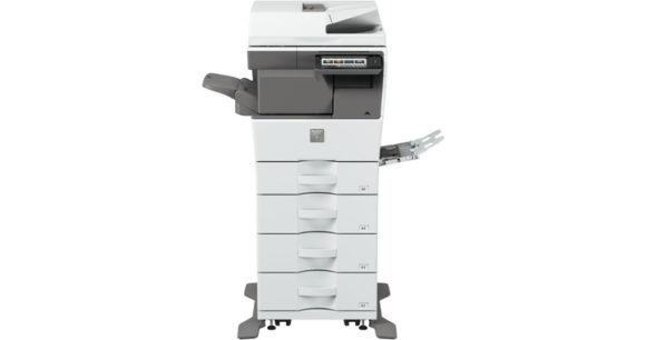 stampante multifunzione sharp MX-B455W - fronte intero
