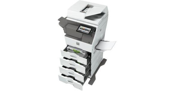 stampante multifunzione sharp MX-B455W - aperta