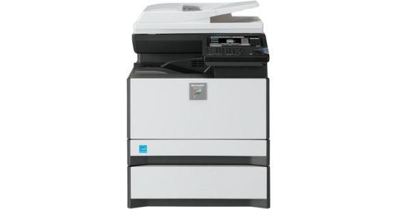 stampante multifunzione sharp mx-c301 - fronte