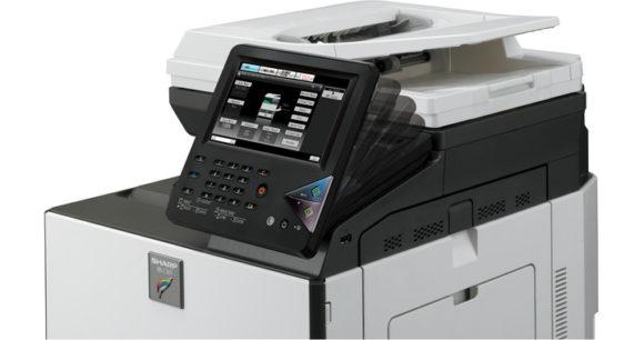 stampante multifunzione sharp mx-c301 - monitor reclinabile
