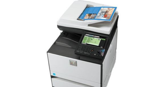stampante multifunzione sharp mx-c301 - lato alto