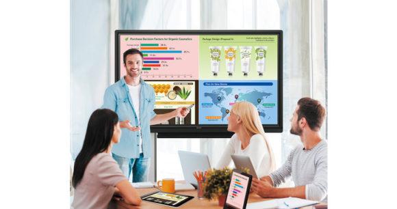 Monitor interattivi BIG PAD Serie W con tecnologia touch Pen-on-Paper