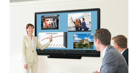 Monitor interattivi BIG PAD Serie W display certificati DICOM