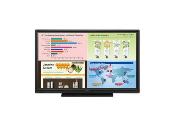Monitor interattivi BIG PAD Serie W display touchscreen professionali