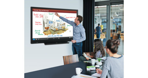 Display touchscreen professionali SHARP - BIG PAD Serie SC