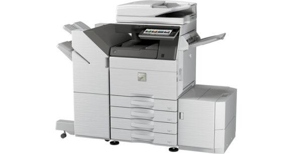 Stampante multifunzione Sharp mx-6070 - lato