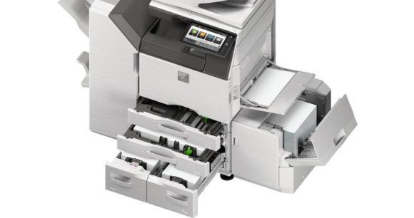 Stampante multifunzione Sharp - cassetti