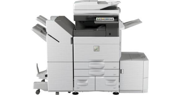 Stampante multifunzione Sharp mx-6070 - fronte grande