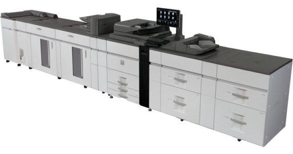 sistema di stampa di produzione Sharp mx-m1205-mx-m1055 - lato