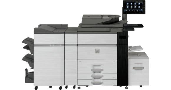 sistema di stampa di produzione Sharp mx-m1205-mx-m1055 - fronte