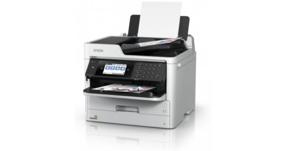 Stampante multifunzione Epson inkjet WORKFORCE PRO WF-C579RDTWF - tavolo