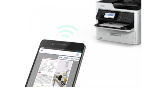 Stampante multifunzione Epson inkjet WORKFORCE PRO WF-C579RDTWF - NFC e Wireless