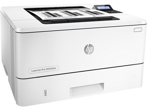 HP LaserJet Pro M402dne - lato
