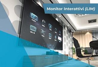 soluzioni di monitor interattivi