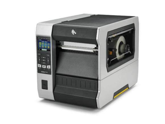 Stampante trasferimento termico per etichette serie Zebra ZT600