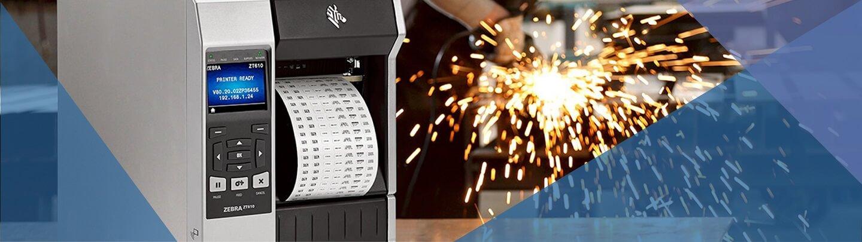 intestazione pagina per la fornitura di stampanti etichette adesive