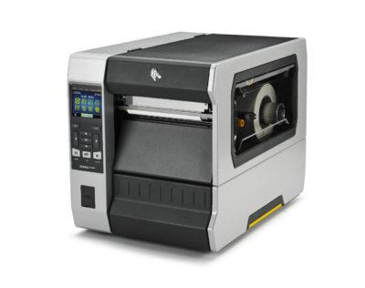 modello zt620 di stampante etichette adesive Zebra vista di fronte