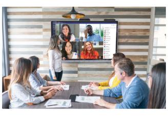monitor interattivo videoconferenza lavoro remoto - PTS srl