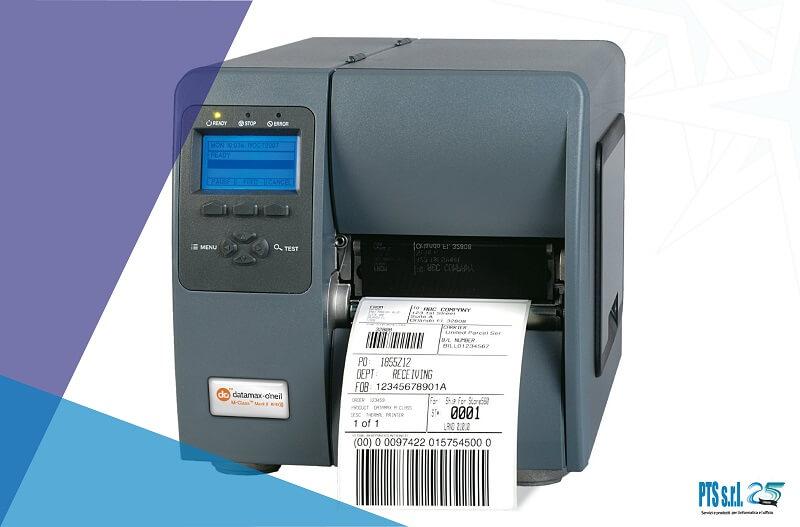 modello stampante etichette adesive Honeywell formato industriale a traferimento termico