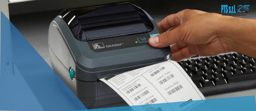 stampante etichette adesive desktop per la gestione documentale e spedizioni