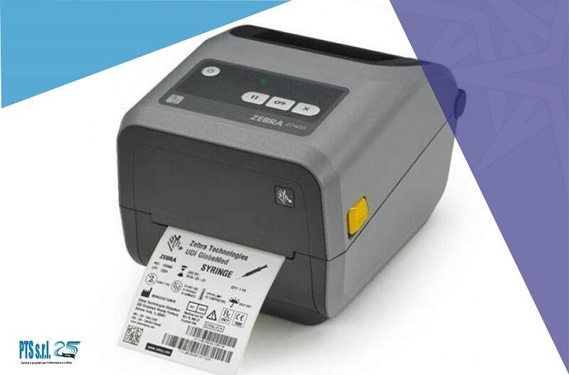 stampante etichette adesive desktop modello Zebra ZD420