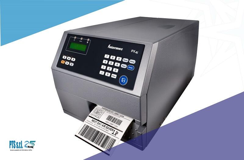 stampante etichette adesive industriale modello Honeywell PX4I