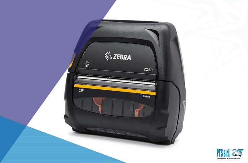 Stampante etichette adesive portatile Zebra serie ZQ